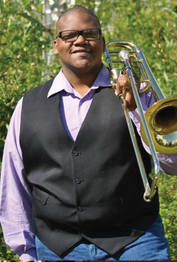 Jerome Smith Practicing Musician Trombone Teacher
