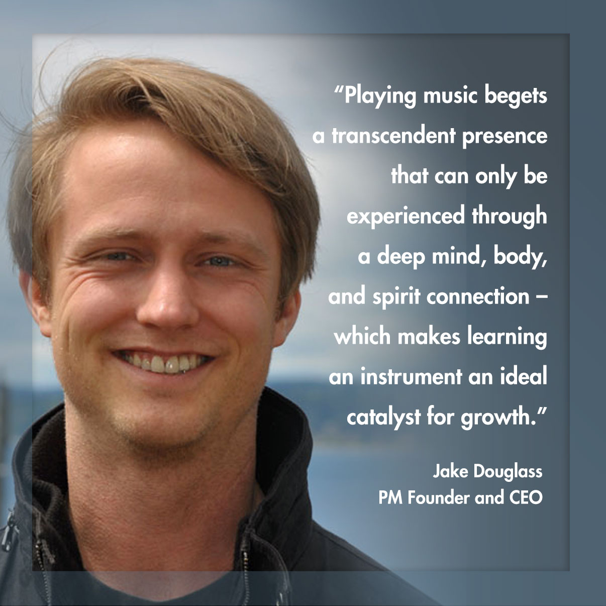 Jake Douglass - PM Founder and CEO