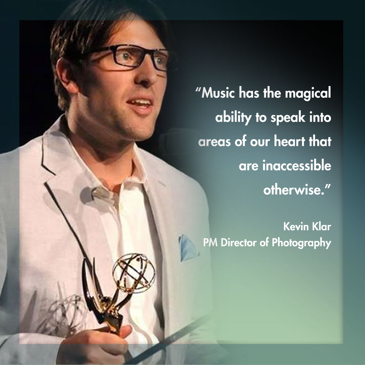 Kevin Klar - Practicing Musician Director of Photography